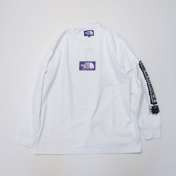 THE NORTH FACE PURPLE LABEL 8oz L/S Logo Tee