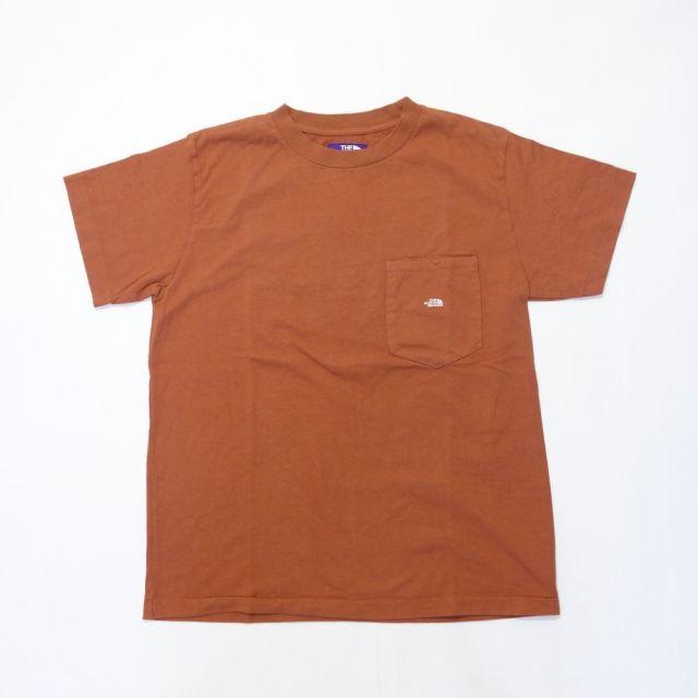 THE NORTH FACE PURPLE LABEL 7oz H/S Pocket Tee 【SALE】