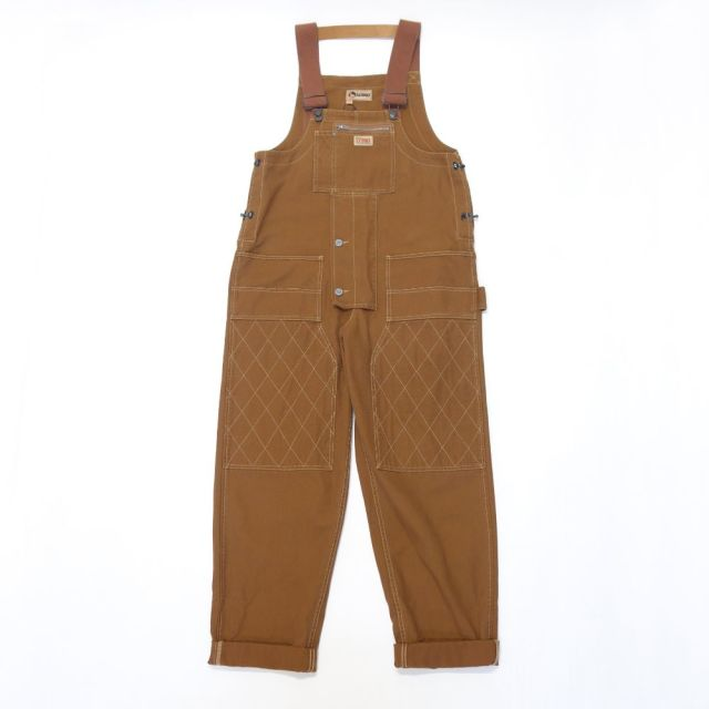 Nigel Cabourn LYBRO CARPENTER DUNGAREE - CANVAS 【SALE】