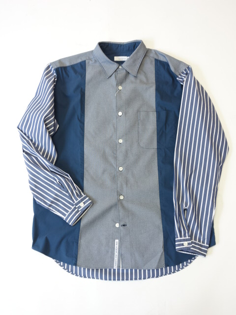 nanamica Wind Panel Shirt 【SALE 30%OFF】