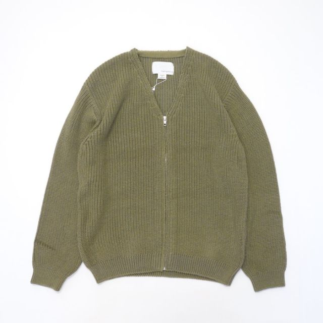 nanamica V Neck Cardigan 【SALE】