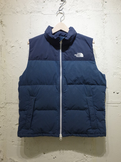 THE NORTH FACE PURPLE LABEL Indigo Field Down Vest