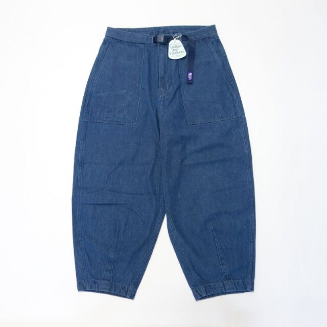 THE NORTH FACE PURPLE LABEL Denim Field Wide Cropped Pants