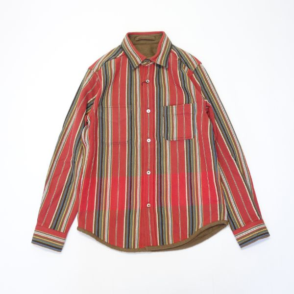 Nigel Cabourn BLANKET REVERSIBLE  FLANNEL SHIRT