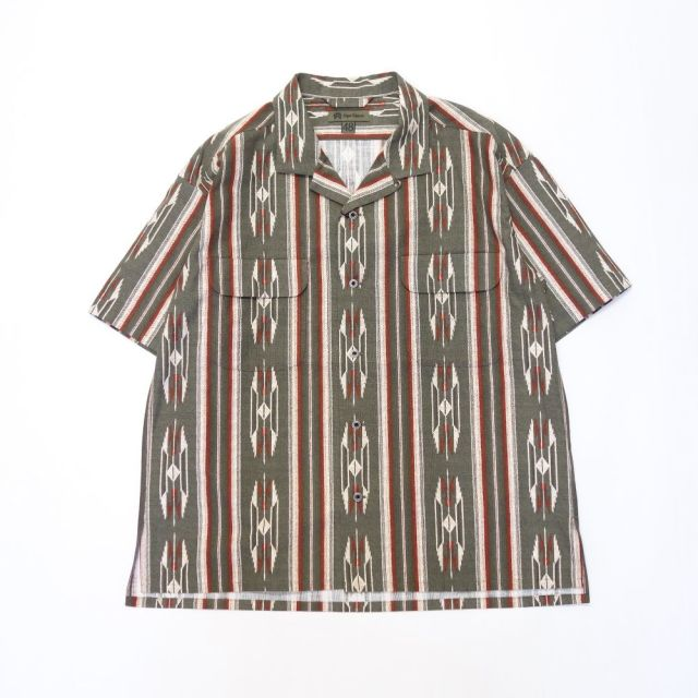 Nigel Cabourn 70'S NATIVE HALF SLEEVE SHIRT