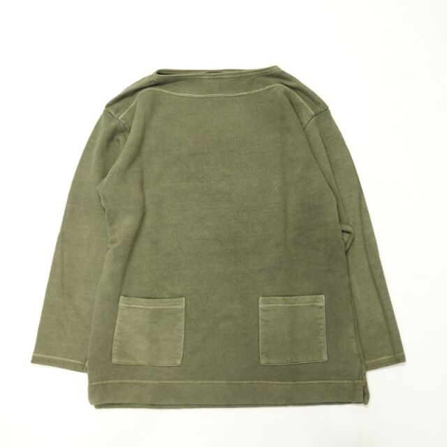 Nigel Cabourn FRENCH TERRY SWEAT SHIRT - PIGMENT