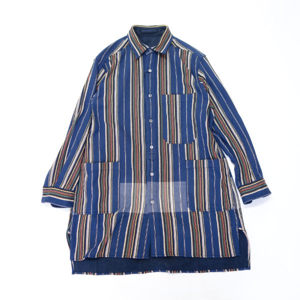 Nigel Cabourn BLANKET REVERSIBLE SLEEP SHIRT