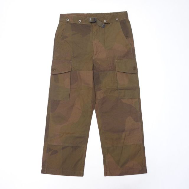 Nigel Cabourn S.A.S. COMBAT PANT - S.A.S. CAMOUFLAGE