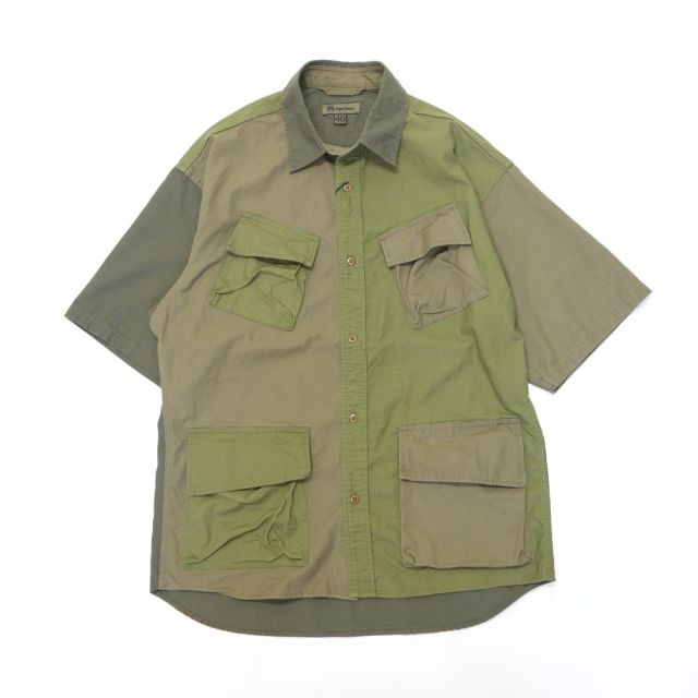Nigel Cabourn DESERT ARMY SHIRT - SHORT SLEEVE
