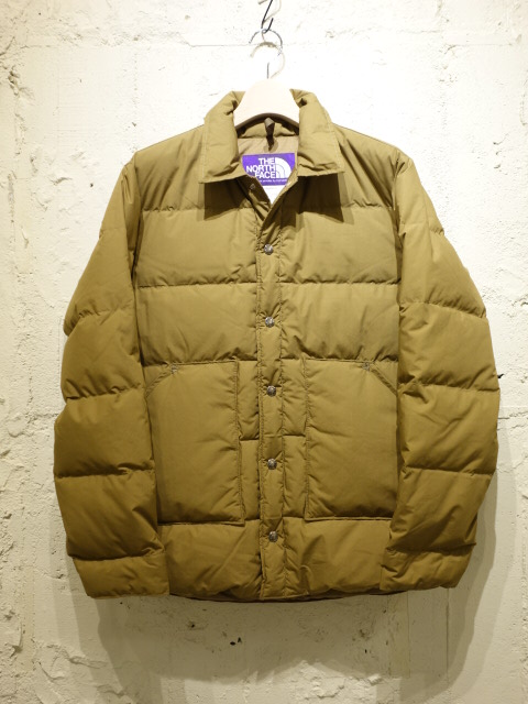 THE NORTH FACE PURPLE LABEL Midweight 65/35 Stuffed Shirt 【SALE】
