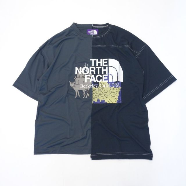THE NORTH FACE PURPLE LABEL Crazy H/S Logo Tee 【SALE】