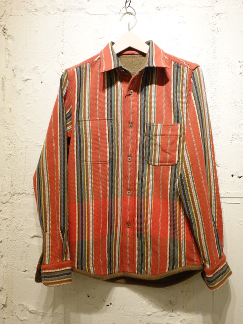 Nigel Cabourn BLANKET REVERSIBLE NEL SHIRT