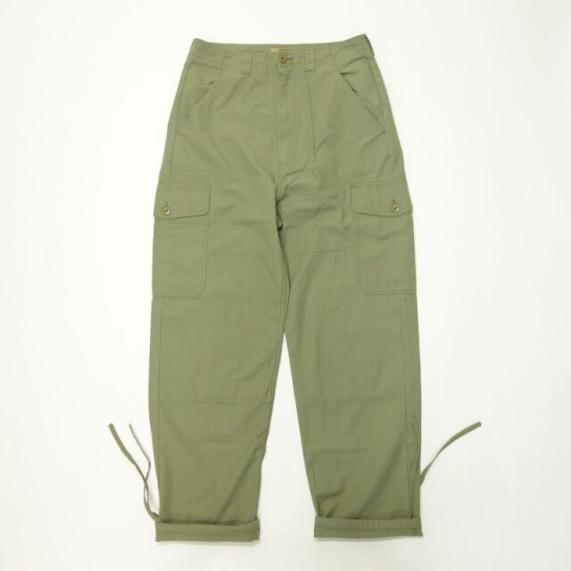 Nigel Cabourn LYBRO PIPED PANT - COTTON RIPSTOP