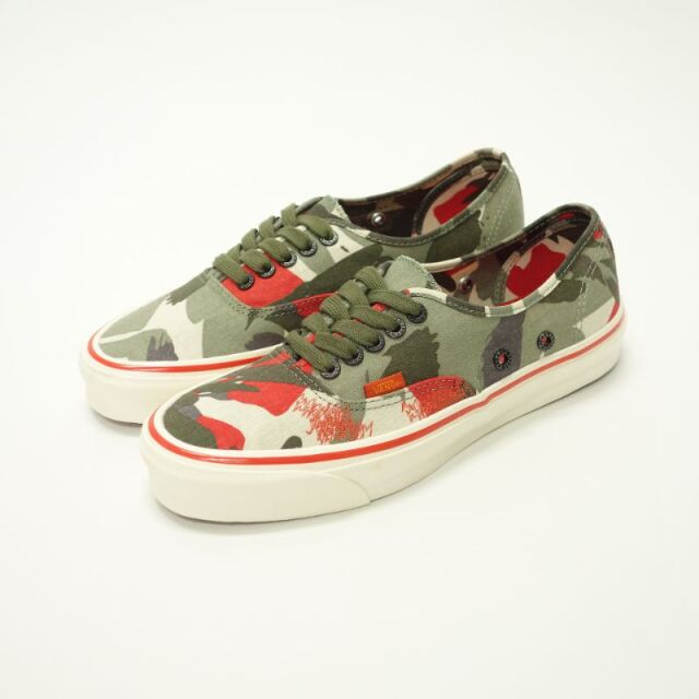 NC x VAULT BY VANS OG AUTHENTIC LX Army Green Camo