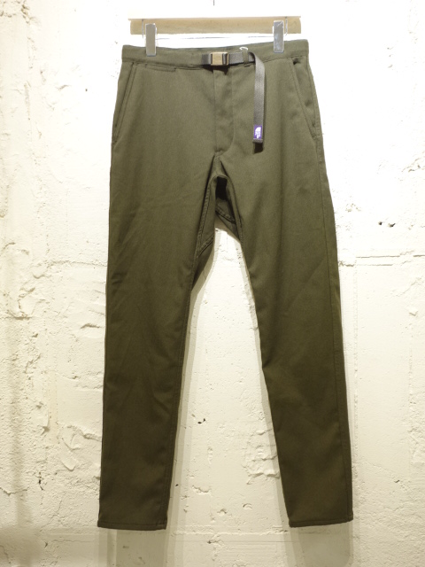 THE NORTH FACE PURPLE LABEL Polyester Serge Field Pants 【SALE 30%OFF】