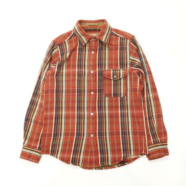 Nigel Cabourn HEAVY FLANNEL REVERSIBLE SHIRT