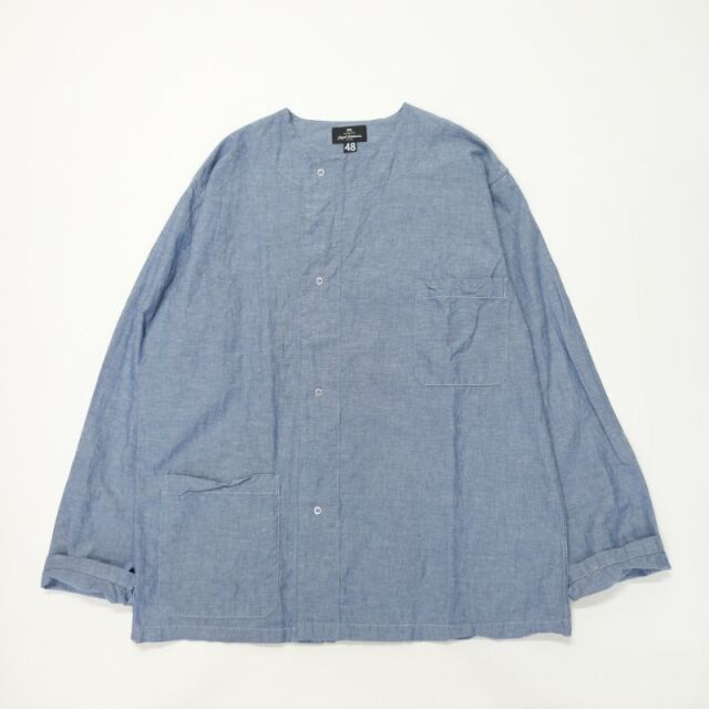Nigel Cabourn PRISONER SHIRT - COTTON LINEN