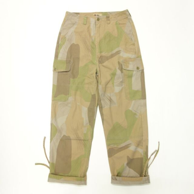 Nigel Cabourn LYBRO PIPED PANT - CAMOUFLAGE