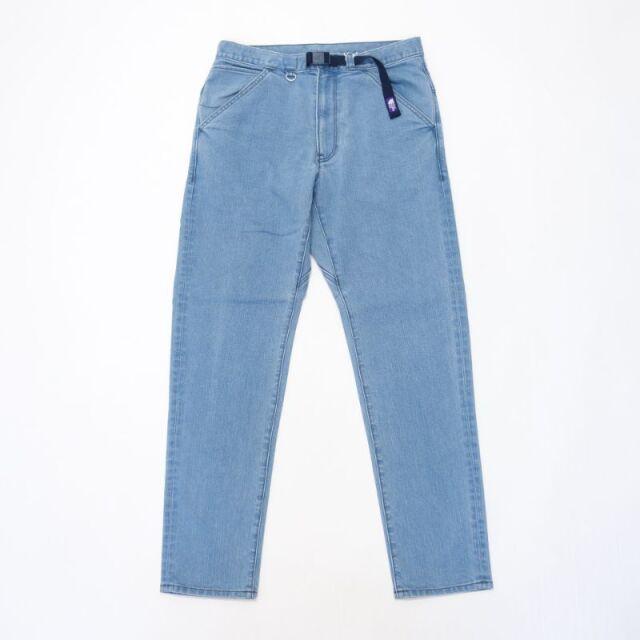 THE NORTH FACE PURPLE LABEL Webbing Belt Denim Pants