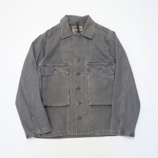 Nigel Cabourn LYBRO USMC SHIRT JACKET CANVAS