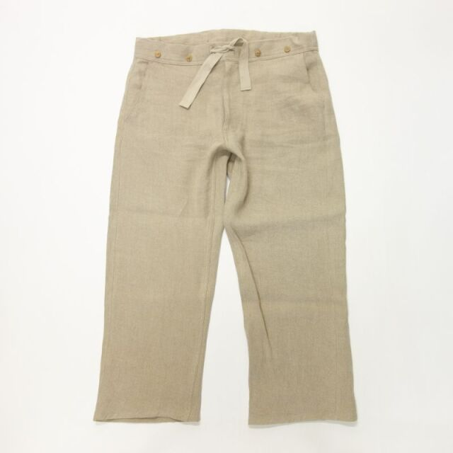 Nigel Cabourn HOSPITAL PANT - FRENCH LINEN