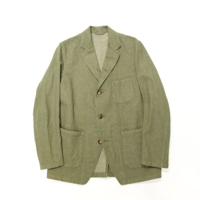 Nigel Cabourn HOSPITAL JACKET - COTTON LINEN DENIM
