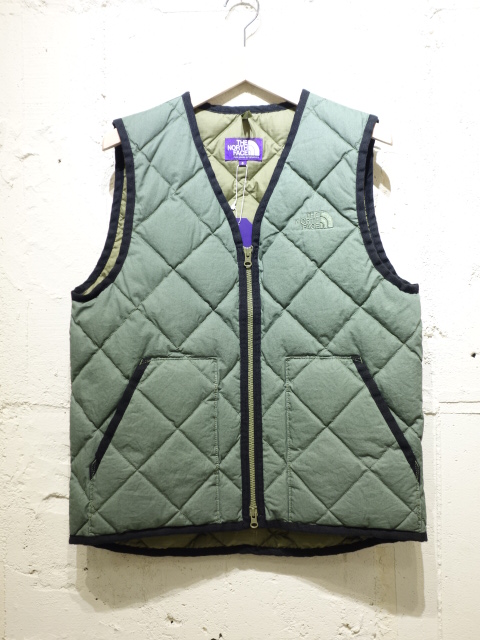 THE NORTH FACE PURPLE LABEL Cotton Down Vest