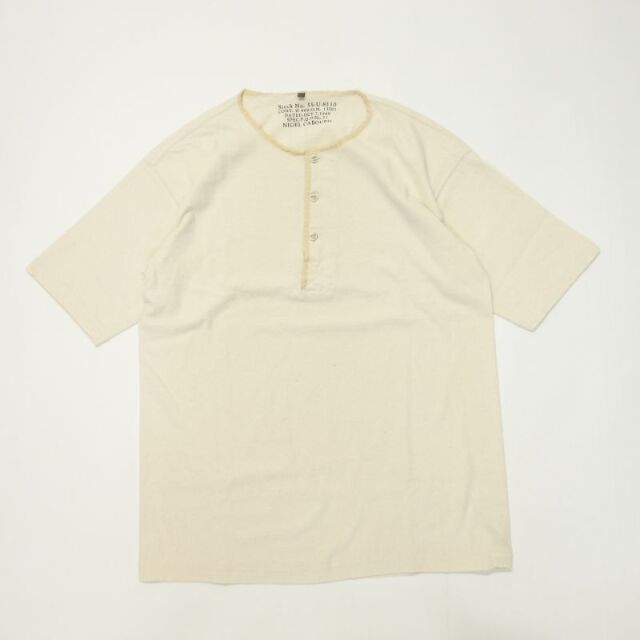 Nigel Cabourn 50`S HENLEY NECK SHIRT
