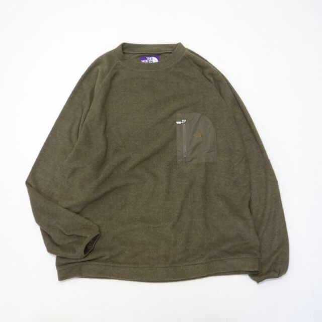 THE NORTH FACE PURPLE LABEL Pack Field Fleece Crew 【SALE】