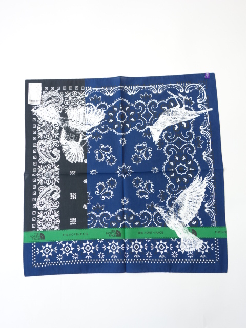 THE NORTH FACE PURPLE LABEL Organic Cotton Bandana