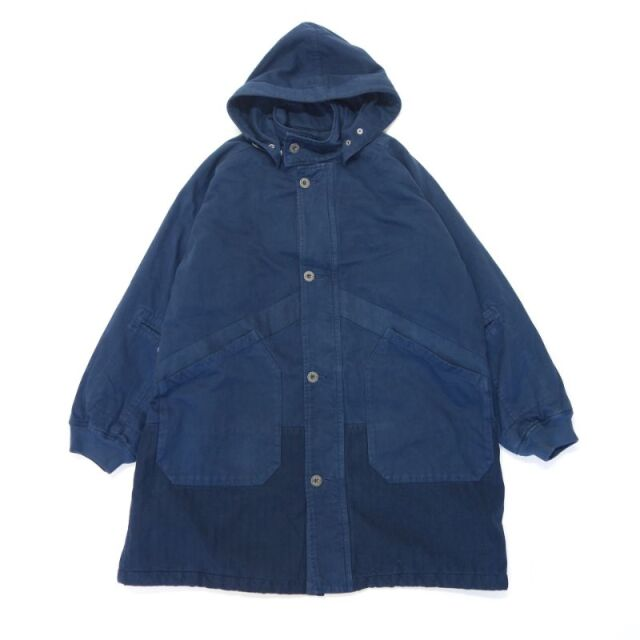 Nigel Cabourn LYBRO HOODED ARCTIC COAT SATEEN