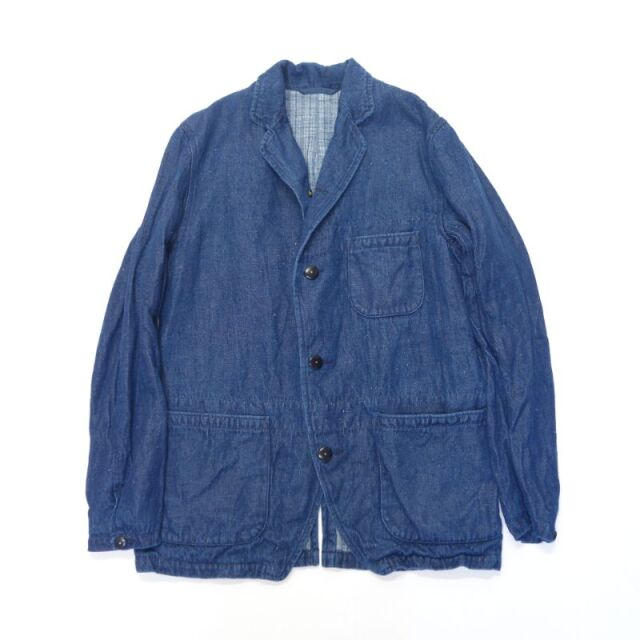 Nigel Cabourn HOSPITAL JACKET - HEMP DENIM