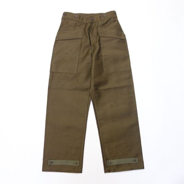 Nigel Cabourn 40s U.S NAVY DECK PANT - BEDFORD CLOTH 【SALE】