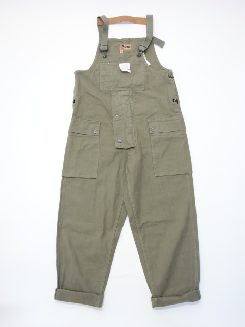 Nigel Cabourn NAVAL DUNGAREE - COTTON HERRINGBONE