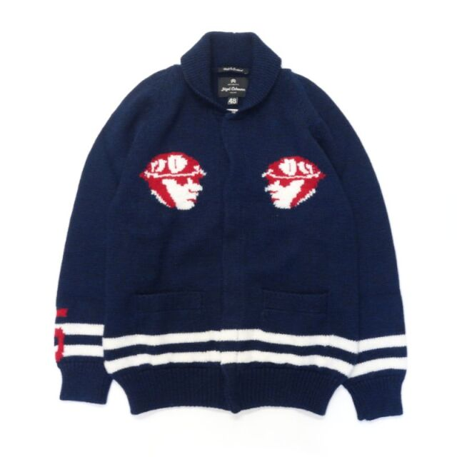 Nigel Cabourn MOS RETRO KNIT CARDIGAN