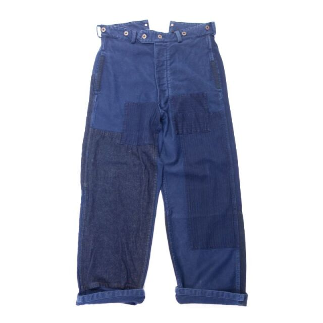 Nigel Cabourn PATCHWORK PANT