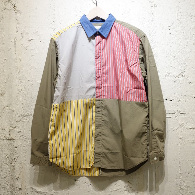 nanamica Crazy Wind Shirt 【SALE】