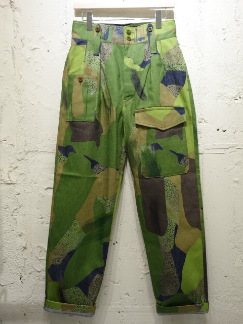 Nigel Cabourn BRITISH ARMY PANT HAND CAMO