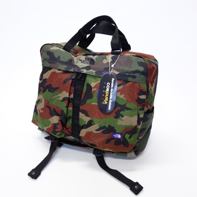 THE NORTH FACE PURPLE LABEL Camo CORDURA Nylon 3Way Brief 【SALE】
