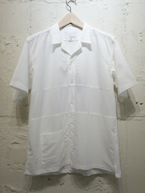 nanamica Panel Open Collar Shirt