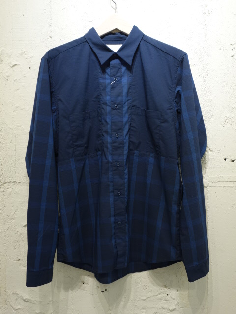 nanamica Shoulder Panel Shirt 【SALE】