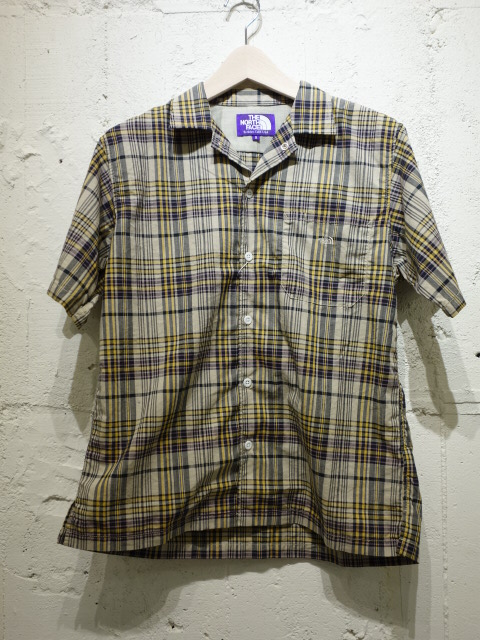 THE NORTH FACE PURPLE LABEL Madras H/S Shirt