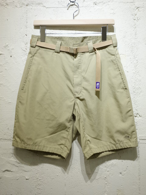 THE NORTH FACE PURPLE LABEL 65/35 Washed Field Shorts With Belt