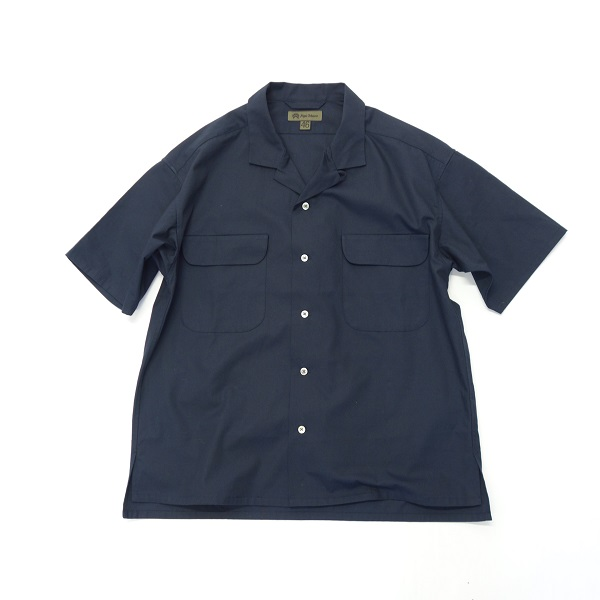 Nigel Cabourn OPEN COLLAR WIDE SHIRT