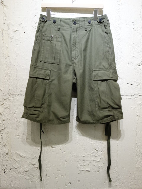 Nigel Cabourn ARMY CARGO SHORT