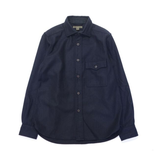 Nigel Cabourn MODIFIED CPO SH - WASHABLE WOOL 【SALE】