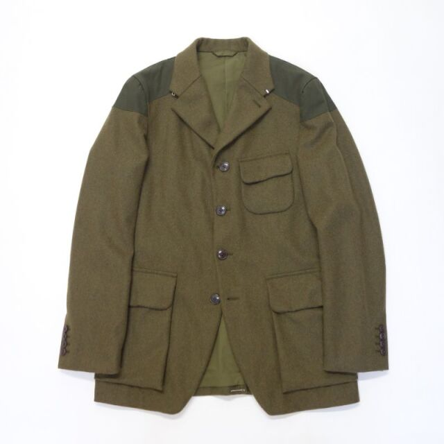 Nigel Cabourn TENZING JACKET WASHABLE FLANNEL 【SALE】