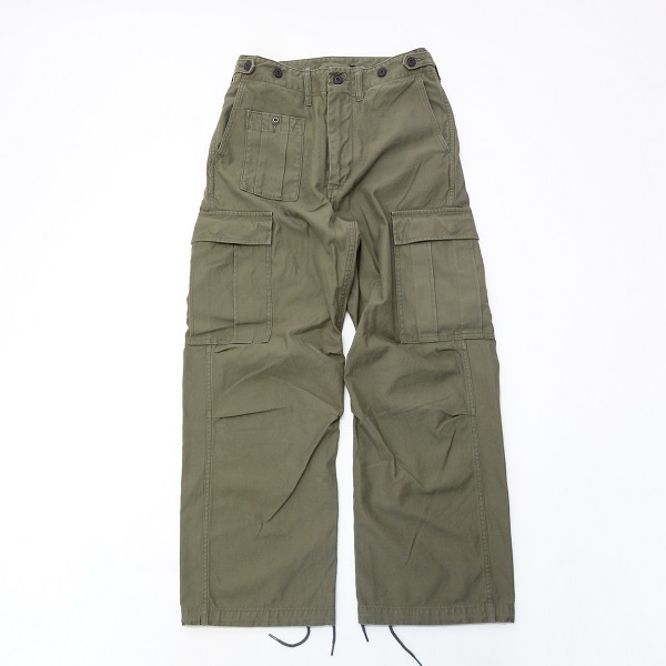 Nigel Cabourn ARMY CARGO PANT - SATIN