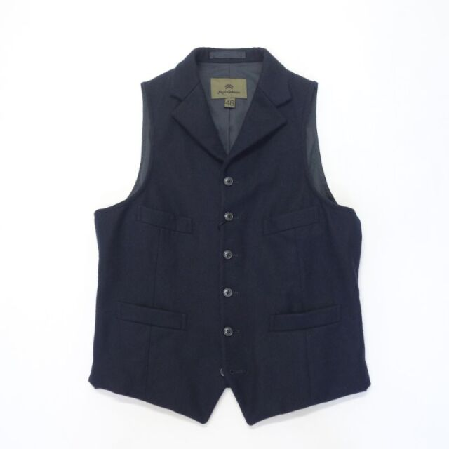 Nigel Cabourn TENZING VEST WASHABLE FLANNEL 【SALE】