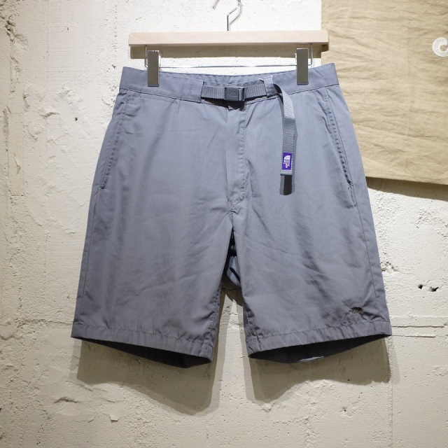THE NORTH FACE PURPLE LABEL 65/35 Washed Field Shorts With Belt 【SALE】
